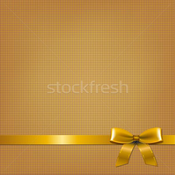 Dorado tarjeta gradiente textura cumpleanos Foto stock © cammep