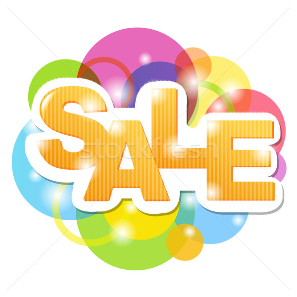 Sale Poster Stock photo © cammep