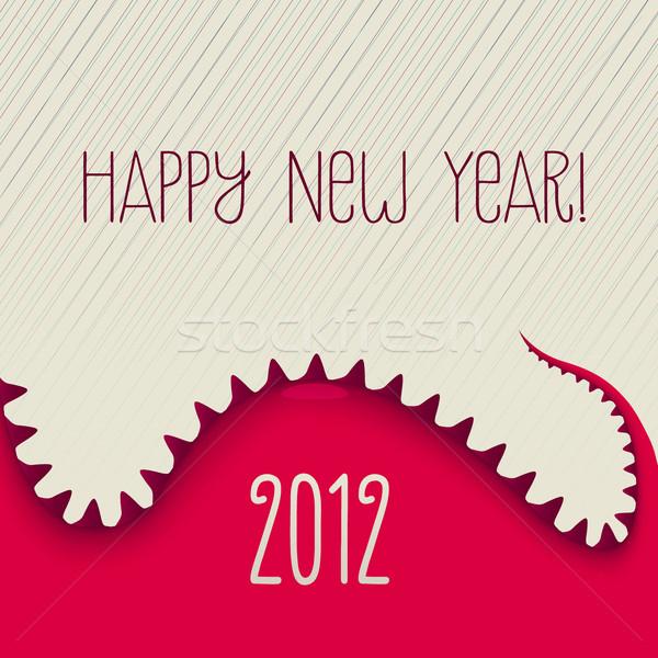 New Year Dino Stock photo © cammep