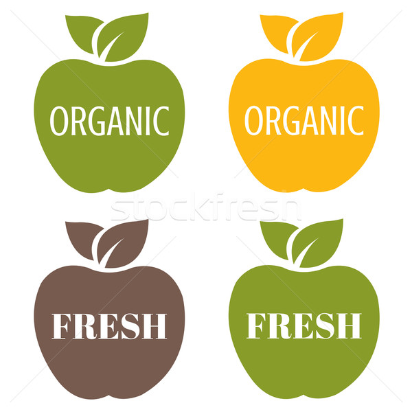 Stock photo: Organic Labels Set