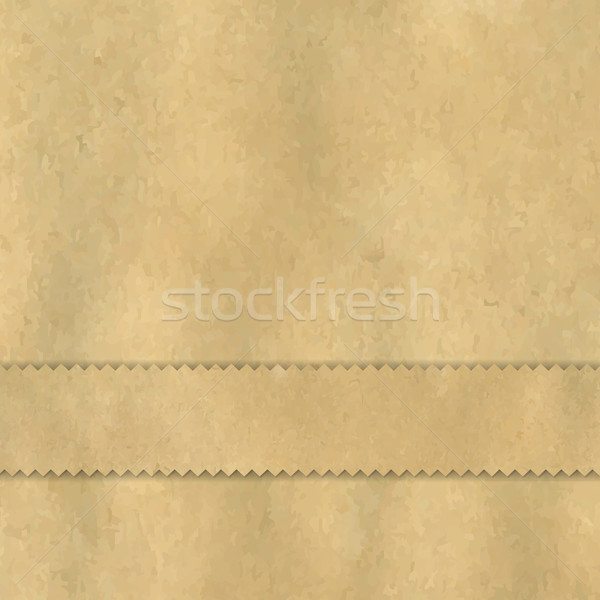 Vintage Paper With Divider Stock photo © cammep