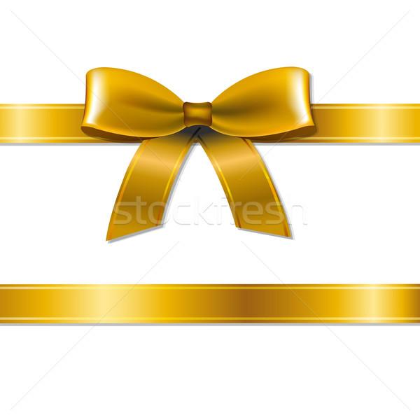 Złoty łuk gradient tekstury urodziny Zdjęcia stock © cammep