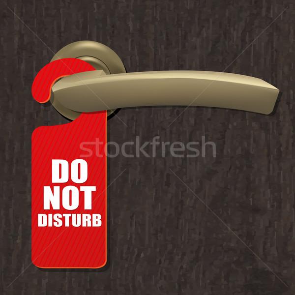 Do Not Disturb Sign Stock photo © cammep
