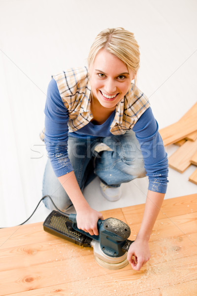 Home improvement workshop hout home interieur Stockfoto © CandyboxPhoto