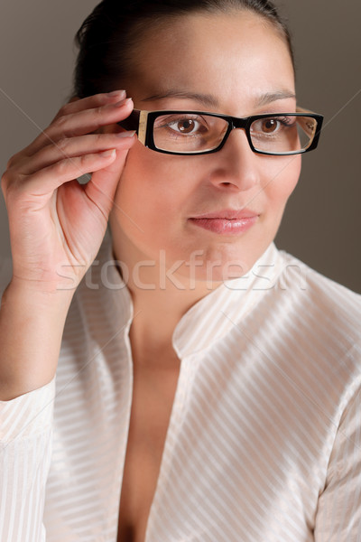 Designer glasses - successful businesswoman Stock photo © CandyboxPhoto