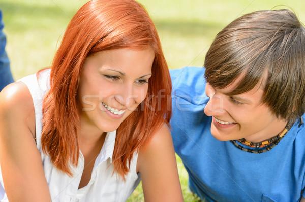 первый любви пару наслаждаться Сток-фото © CandyboxPhoto