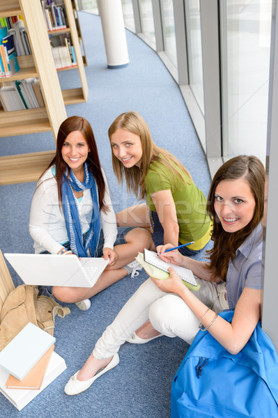 Group of teenage student study at high-school Stock photo © CandyboxPhoto