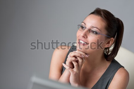 Successful executive businesswoman at office Stock photo © CandyboxPhoto
