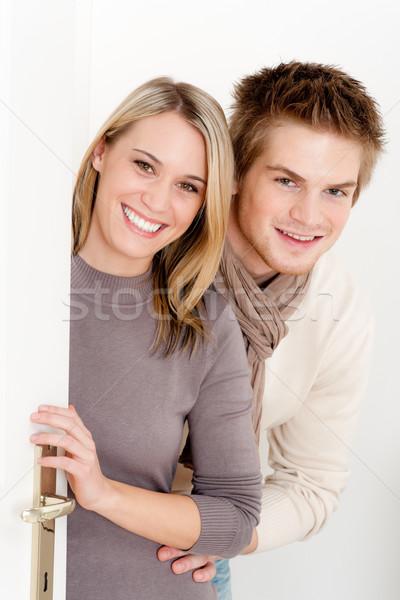 пару любви счастливым домой расслабиться вместе Сток-фото © CandyboxPhoto