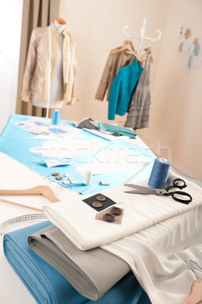 Moda estilista estúdio profissional equipamento manequim Foto stock © CandyboxPhoto