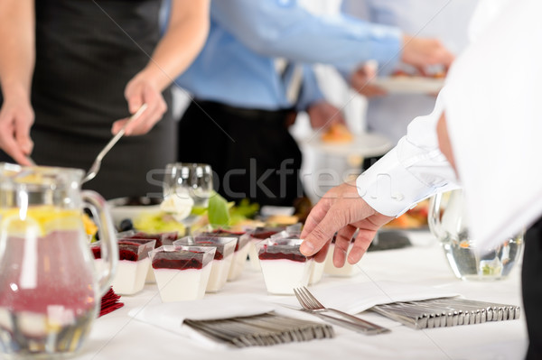 Business catering dessert for company celebration Stock photo © CandyboxPhoto