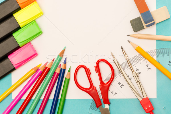 School accessories for elementary grades Stock photo © CandyboxPhoto