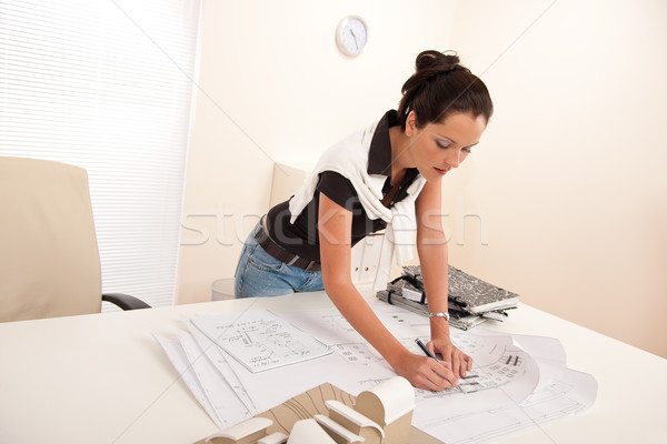Female architect at the office  Stock photo © CandyboxPhoto