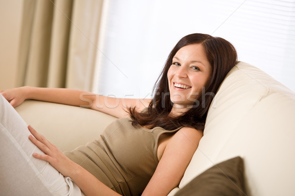 Young woman relax in lounge   Stock photo © CandyboxPhoto