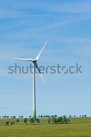 Green energy windmill generators ecology countryside  Stock photo © CandyboxPhoto
