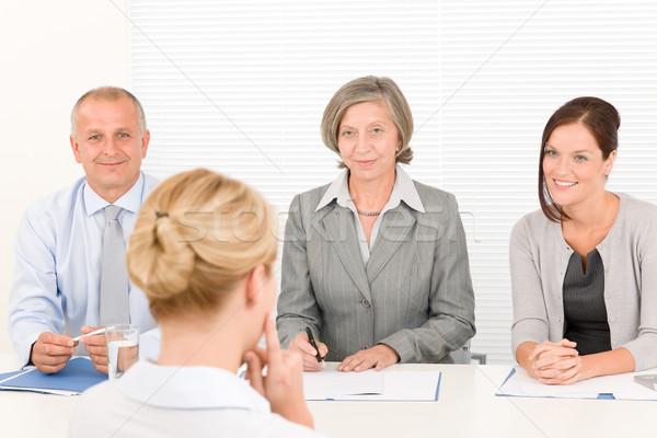 Сток-фото: бизнес-команды · бизнеса · интервью · профессиональных