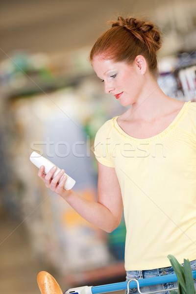 Stok fotoğraf: Alışveriş · kadın · şampuan