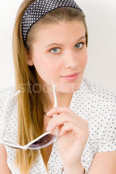 Foto stock: Moda · modelo · mulher · desgaste · verão · estilista