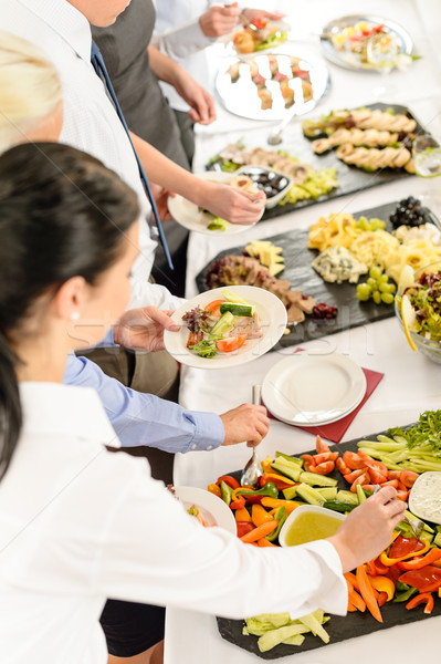 Catering food buffet at business meeting Stock photo © CandyboxPhoto