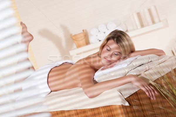Foto stock: Spa · bienestar · masaje · tratamiento · terapia