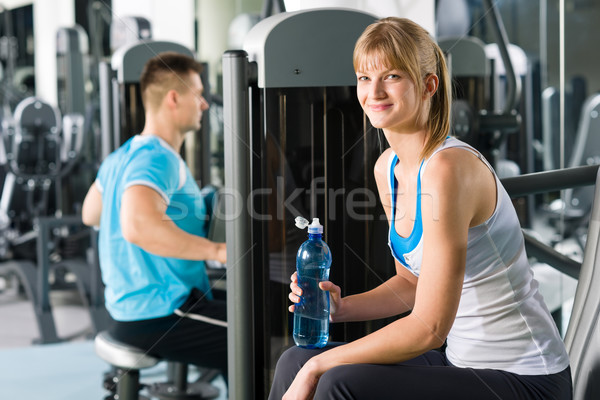 At the fitness center Stock photo © CandyboxPhoto