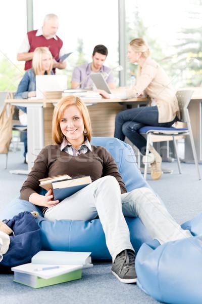 Stock fotó: Diákok · tanár · oktatás · középiskola · tanul · egyetem
