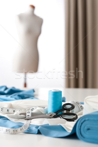 Fashion designer studio with professional equipment Stock photo © CandyboxPhoto