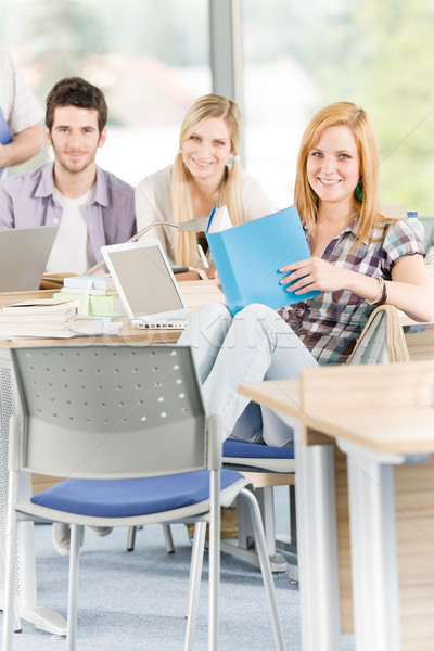 Group of young high school students learning  Stock photo © CandyboxPhoto