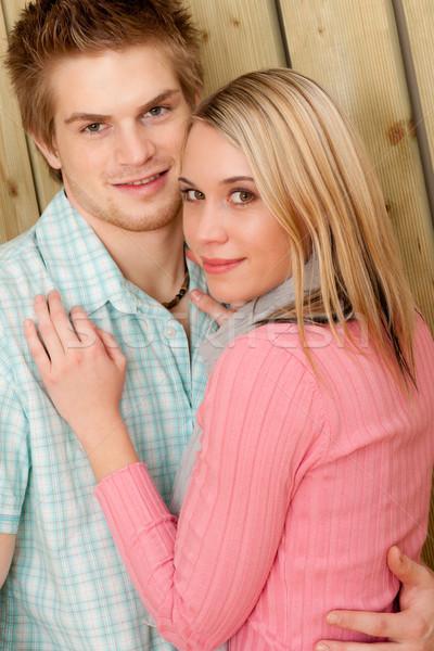 пару любви счастливым наслаждаться лет солнце Сток-фото © CandyboxPhoto