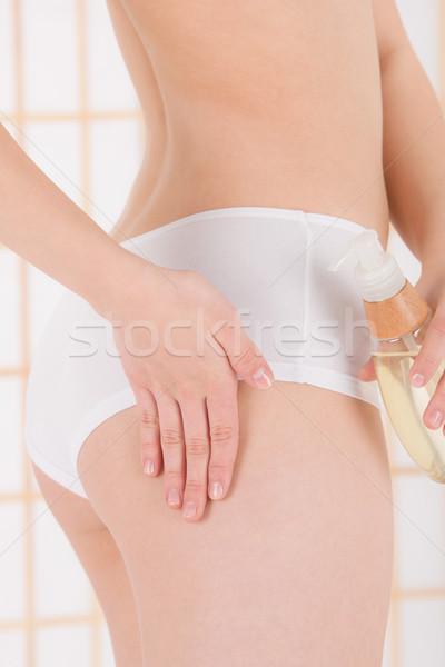 Corpo care olio da massaggio primo piano Foto d'archivio © CandyboxPhoto