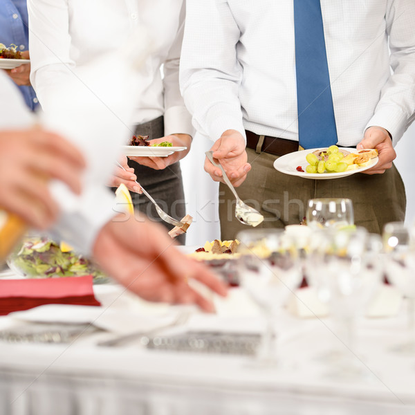 Business catering for company event Stock photo © CandyboxPhoto