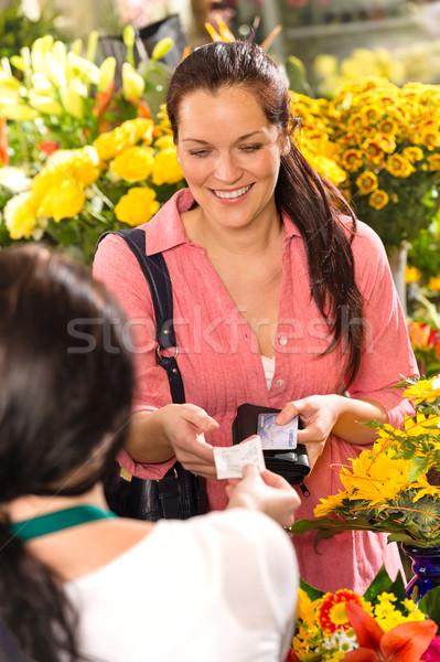 женщину клиентов получение покупке Сток-фото © CandyboxPhoto