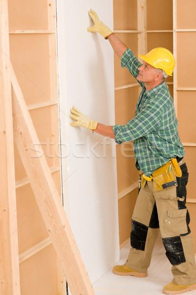 Złota rączka pracy domu poprawa dojrzały człowiek Zdjęcia stock © CandyboxPhoto