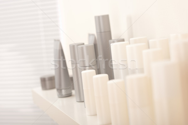 Hair and body care cosmetics bottles Stock photo © CandyboxPhoto
