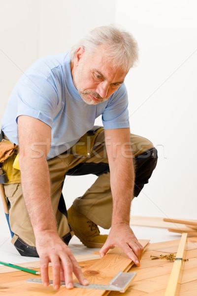 Melhoramento da casa handyman casa madeira Foto stock © CandyboxPhoto