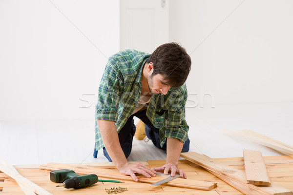 Mejoras para el hogar manitas interior piso Foto stock © CandyboxPhoto