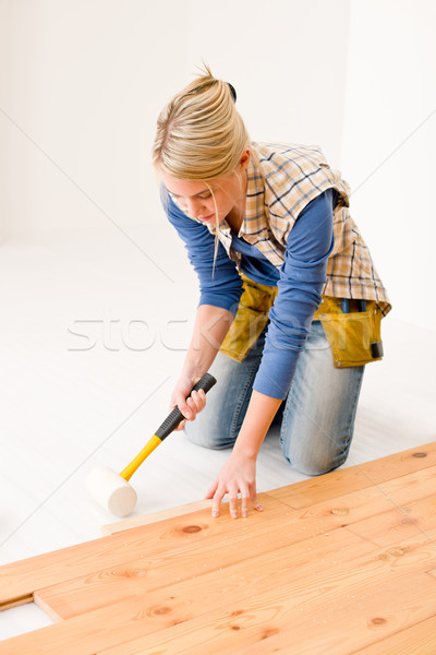 Home improvement klusjesman home hout Stockfoto © CandyboxPhoto