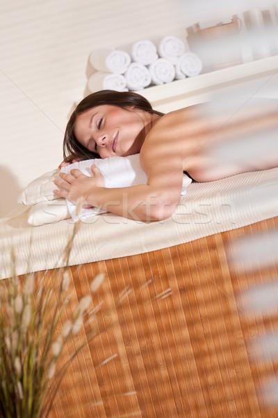 Foto stock: Spa · bienestar · terapia · tratamiento · relajante