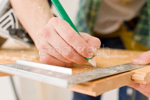 Amélioration de l'habitat bricoleur atelier table intérieur Photo stock © CandyboxPhoto