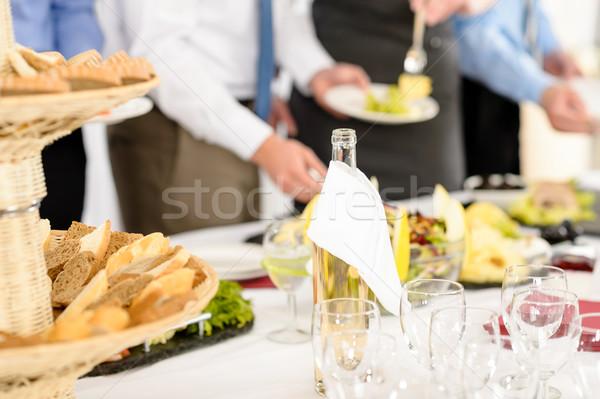 Business catering service people at meeting  Stock photo © CandyboxPhoto