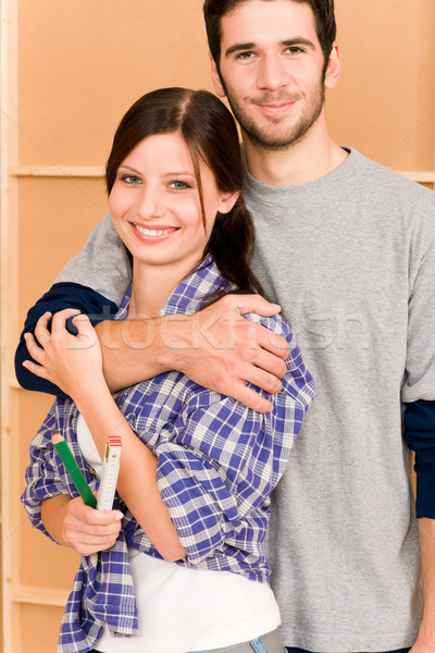 Home improvement young couple with repair tools Stock photo © CandyboxPhoto
