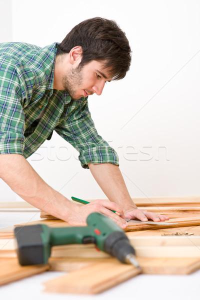Melhoramento da casa handyman interior piso Foto stock © CandyboxPhoto
