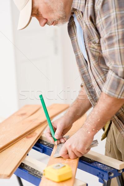 Melhoramento da casa handyman oficina tabela interior Foto stock © CandyboxPhoto