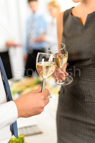 Cheers to business successful cooperation Stock photo © CandyboxPhoto