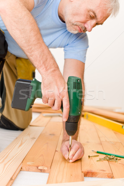 Home improvement klusjesman home man Stockfoto © CandyboxPhoto