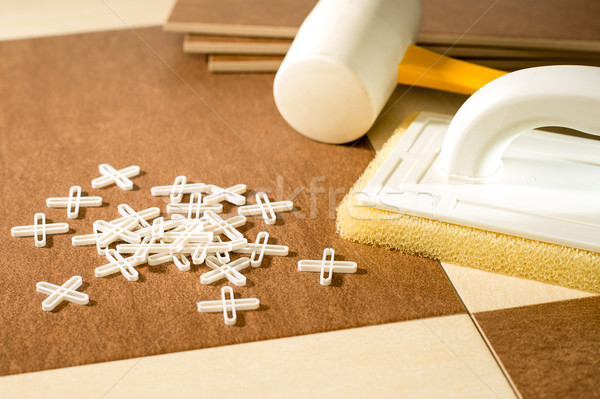 A variety of flooring tools Stock photo © CandyboxPhoto