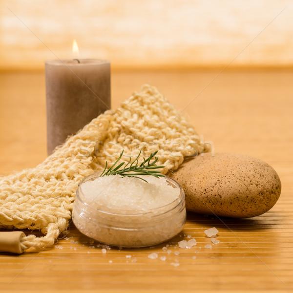 Spa natuurlijke producten huid zout Stockfoto © CandyboxPhoto