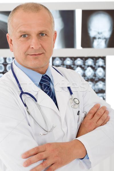 Volwassen arts mannelijke ingesteld Xray portret Stockfoto © CandyboxPhoto