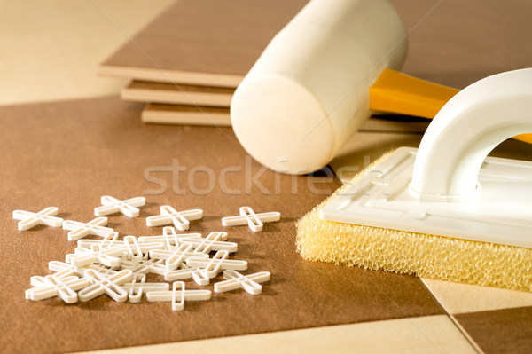 Flooring tools Stock photo © CandyboxPhoto