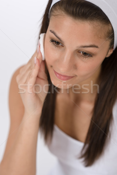 красоту подростку женщину очистки акне Сток-фото © CandyboxPhoto